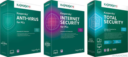Kaspersky Internet Security / Anti-Virus / Total Security 2016 16.0.0.614.0.122.0