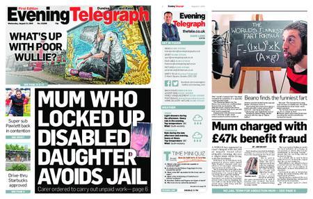 Evening Telegraph First Edition – August 21, 2019