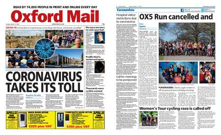 Oxford Mail – March 17, 2020