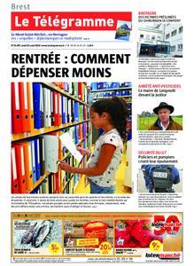 Le Télégramme Brest – 22 août 2019