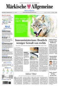 Märkische Allgemeine Dosse Kurier - 14. September 2017