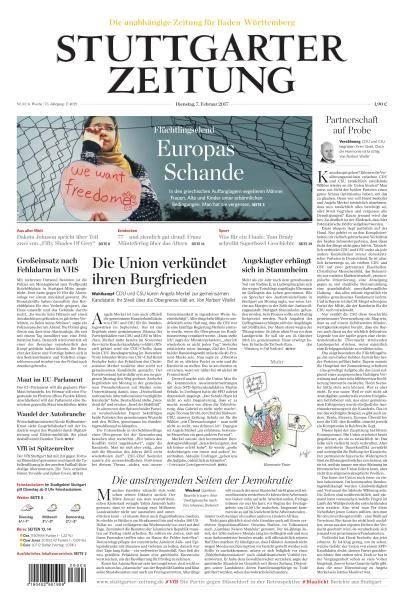 Stuttgarter Zeitung - 7 Februar 2017