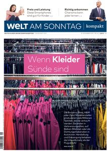 Welt am Sonntag Kompakt - 10 November 2019