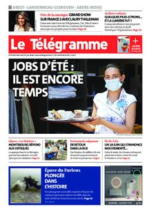 Le Télégramme Brest Abers Iroise – 17 juin 2020