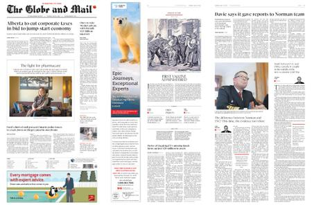 The Globe and Mail – May 14, 2019