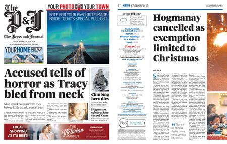 The Press and Journal Moray – November 24, 2020