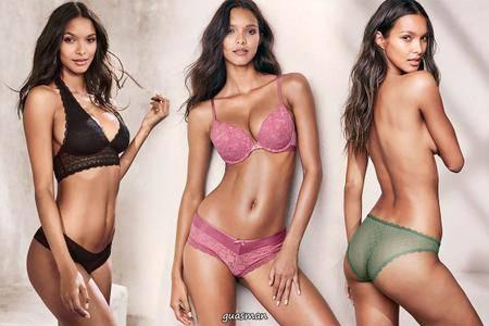Lais Ribeiro - Victoria's Secret Photoshoot 2017 set 2