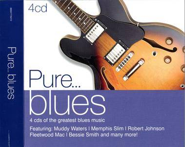 Various Artists - Pure... Blues (2010) 4 CD Box Set [Re-Up]