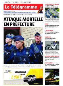 Le Télégramme Landerneau - Lesneven – 04 octobre 2019