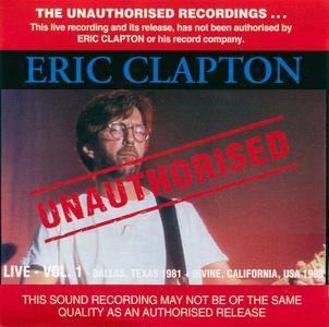 Eric Clapton - Live Vol. 1 (1993) {Bootleg}