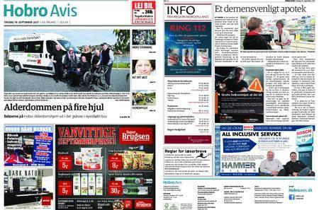 Hobro Avis – 19. september 2017