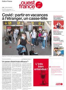 Ouest-France Édition France – 30 juillet 2021