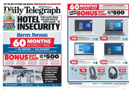 The Daily Telegraph (Sydney) – August 20, 2020