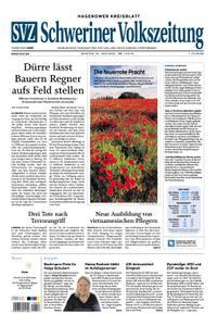 Schweriner Volkszeitung Hagenower Kreisblatt - 22. Juni 2020