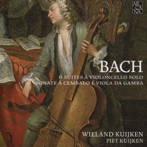 Wieland Kuijken, Piet Kuijken - Bach: 6 Suites a Violoncello solo; Sonate a Cembalo e Viola da Gamba (2015)