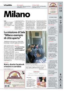 la Repubblica Milano - 3 Novembre 2018