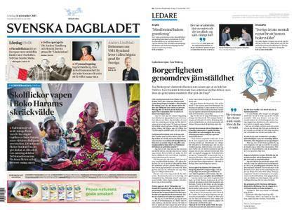 Svenska Dagbladet – 11 november 2017