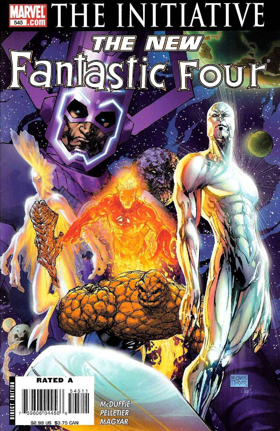 A Blasty From The Pasty [425 of 558] 154 The Initiative - Fantastic Four V1 545