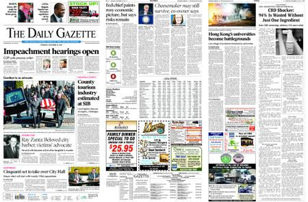 The Daily Gazette – November 14, 2019