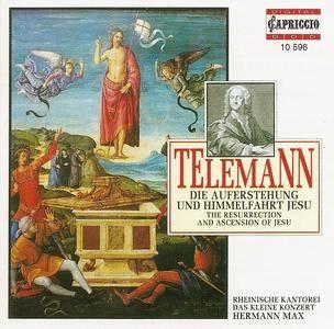 Hermann Max, Das Kleine Konzert - Telemann: Die Auferstehung und Himmelfahrt Jesu (1995)