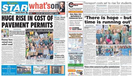 Shropshire Star North County Edition – May 17, 2019
