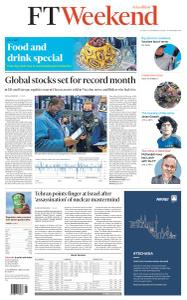 Financial Times Asia - November 28, 2020