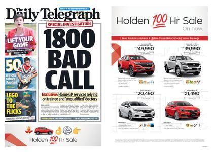The Daily Telegraph (Sydney) – September 21, 2017