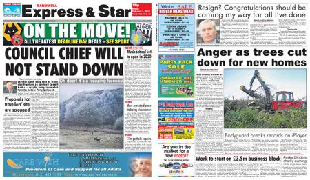 Express and Star Sandwell Edition – February 01, 2019