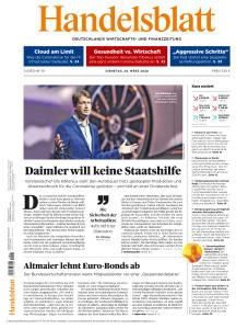 Handelsblatt - 24 März 2020