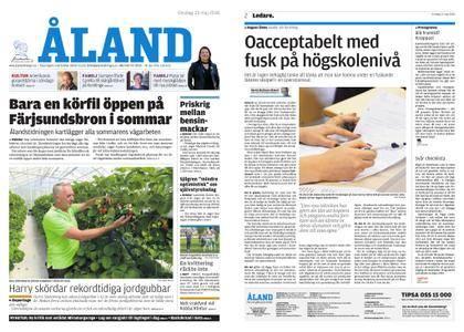 Ålandstidningen – 23 maj 2018