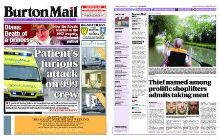 Burton Mail – August 26, 2017
