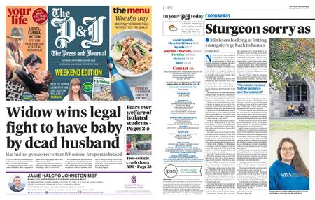 The Press and Journal Moray – September 26, 2020
