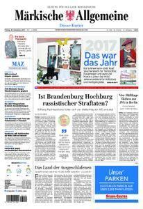 Märkische Allgemeine Dosse Kurier - 29. Dezember 2017