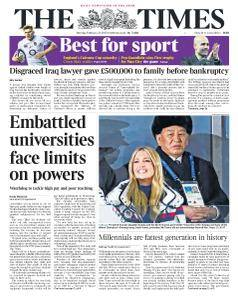 The Times - 26 February 2018