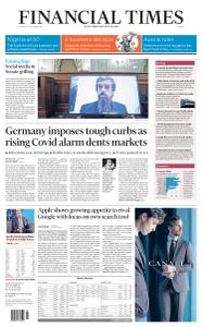 Financial Times Europe - October 29, 2020
