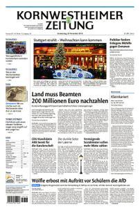 Kornwestheimer Zeitung - 29. November 2018