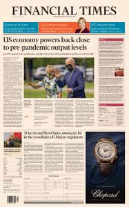 Financial Times Asia - April 30, 2021