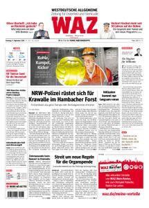 WAZ Westdeutsche Allgemeine Zeitung Oberhausen-Sterkrade - 04. September 2018