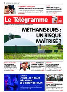 Le Télégramme Auray – 25 août 2020