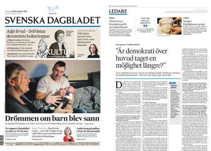 Svenska Dagbladet – 29 december 2019