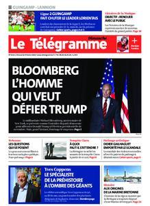 Le Télégramme Guingamp – 09 février 2020