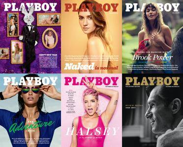 Playboy USA - 2017 Full Year Issues Collection
