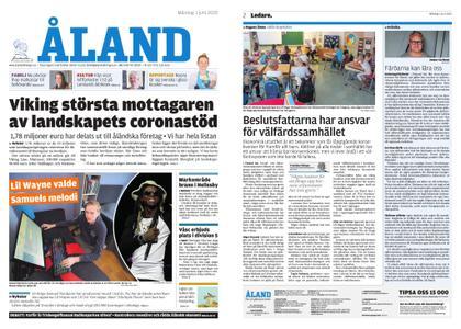 Ålandstidningen – 01 juni 2020