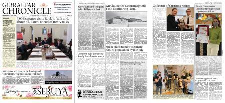 Gibraltar Chronicle – 07 April 2021