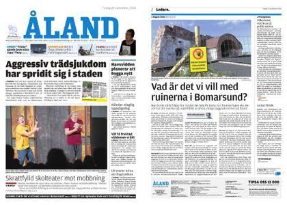 Ålandstidningen – 25 september 2018