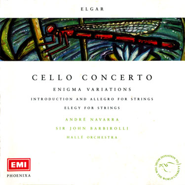 Elgar - Cello Concerto, Enigma Variations - Navarra, Barbirolli (1956)