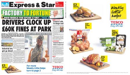 Express and Star Sandwell Edition – March 21, 2019