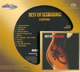 Scorpions - Best Of Scorpions (1979) [Audio Fidelity 2017] PS3 ISO + Hi-Res FLAC
