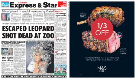 Express and Star Sandwell Edition – December 01, 2018