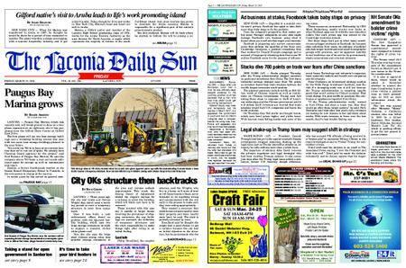 The Laconia Daily Sun – March 23, 2018